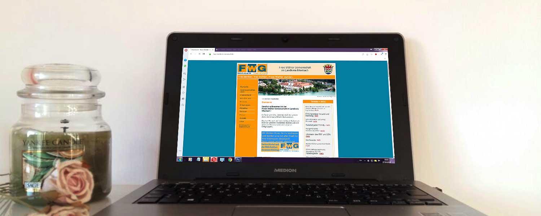 Vorschau der alten Webseite der FWG Landkreis Miesbach
