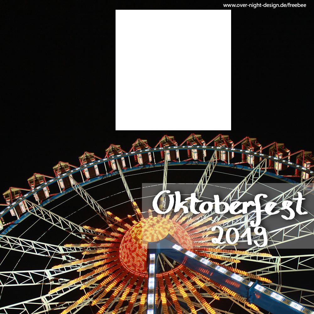 Oktoberfest bei Nacht (1 Bild) - Oktoberfest 2019