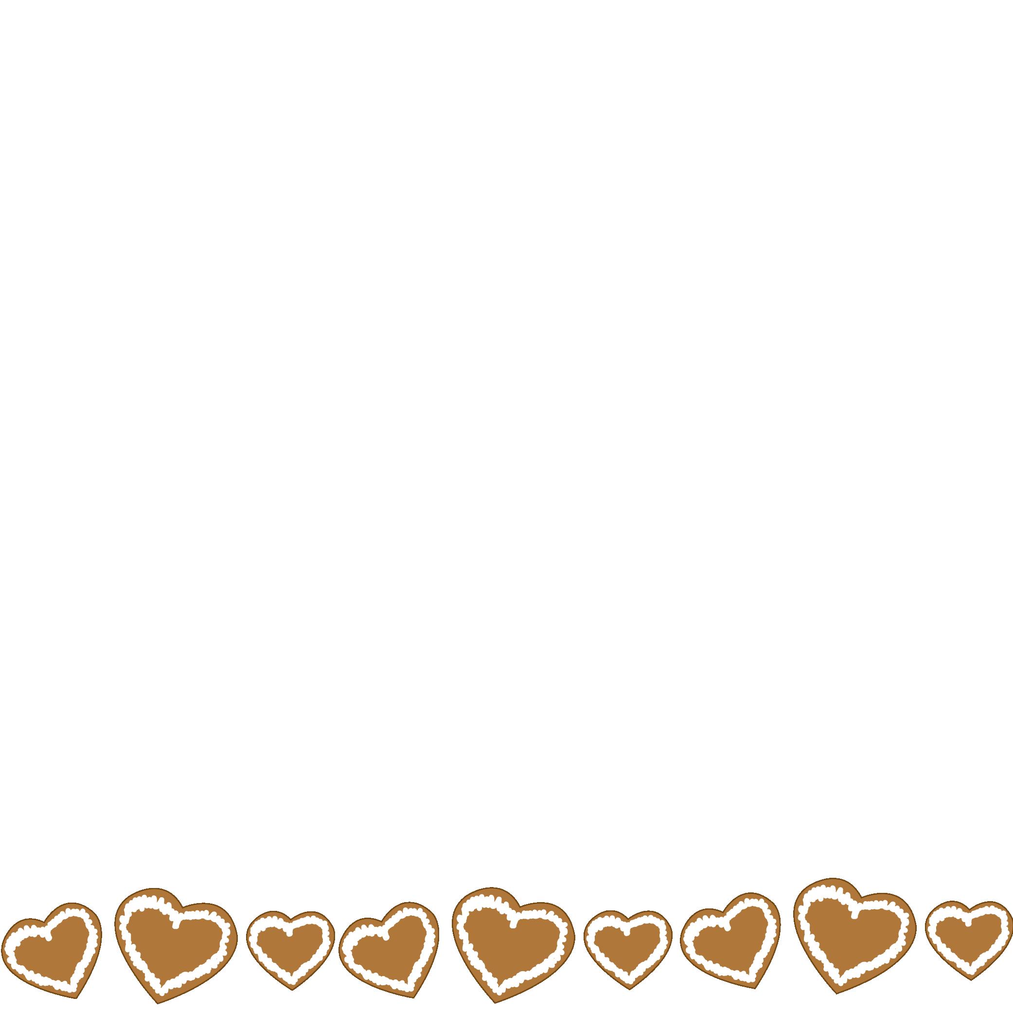 Herzdeko Lebkuchenherz
