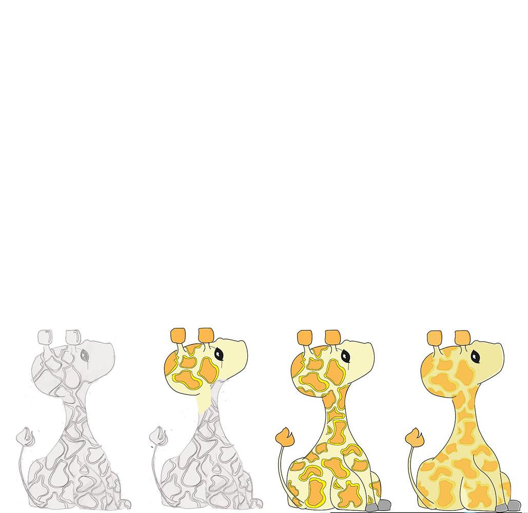 Giraffe grafik