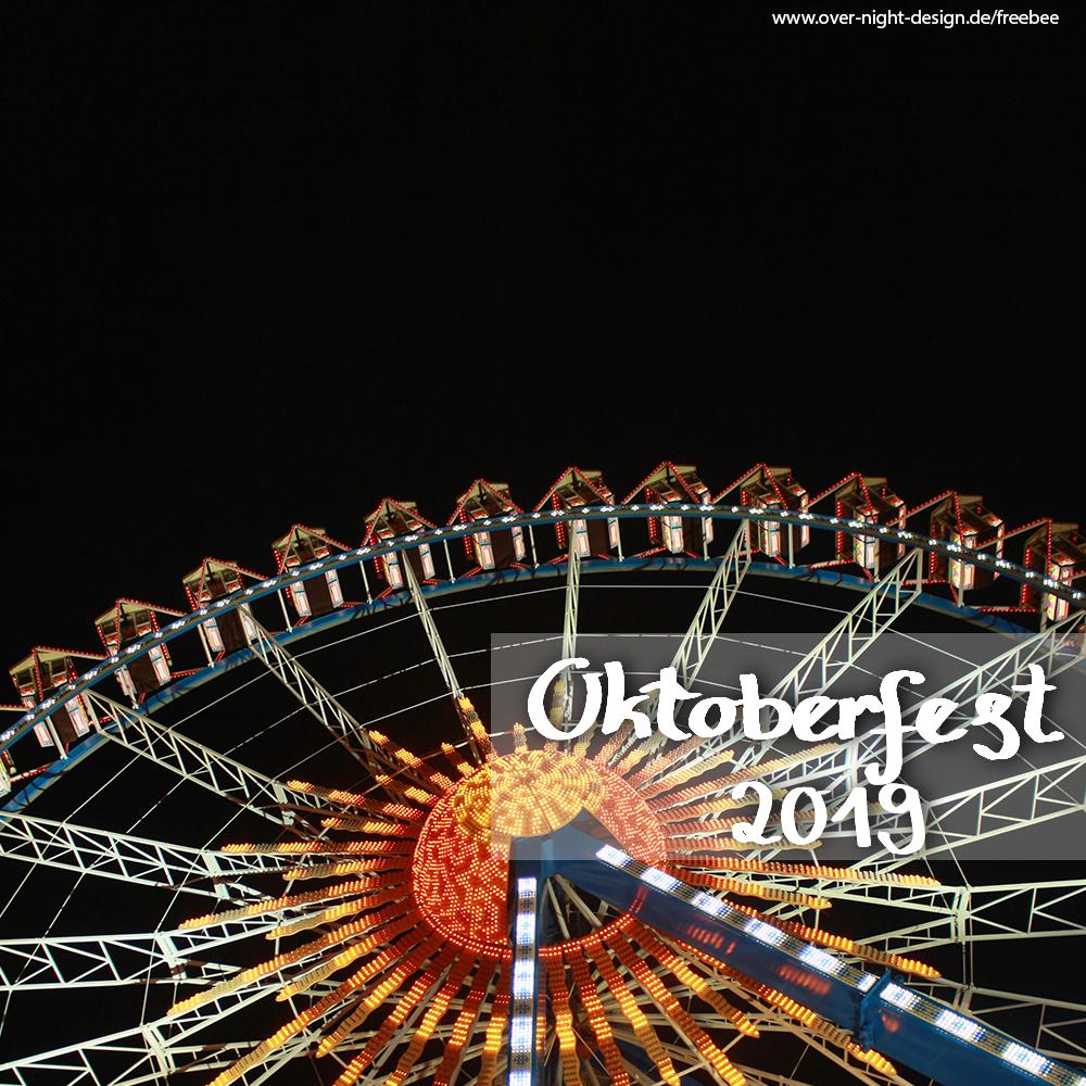 Oktoberfest bei Nacht (2 Bilder) - Oktoberfest 2019