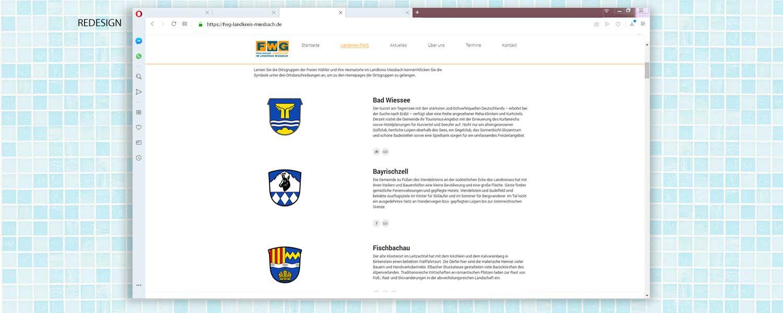 Webdesign - Freie Wähler Gemeinschaft Landkreis Miesbach