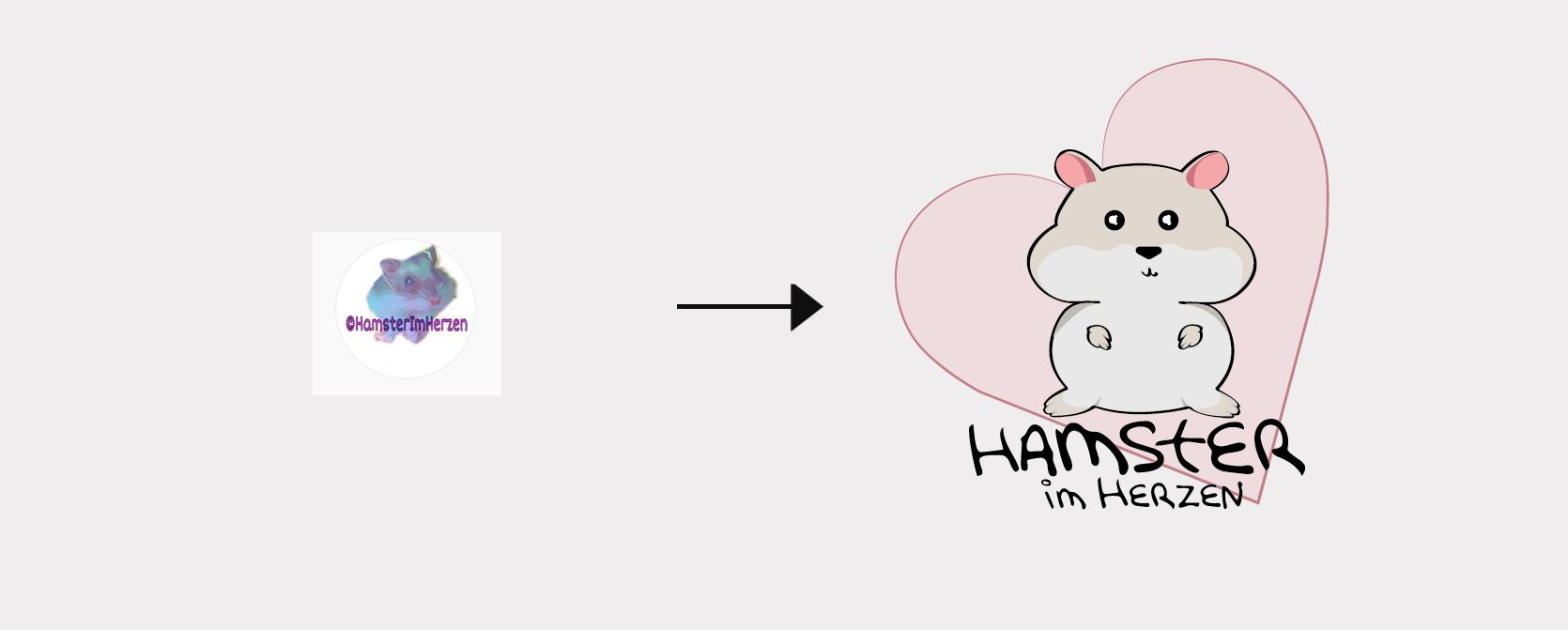 Redesign Logo HamsterimHerzen
