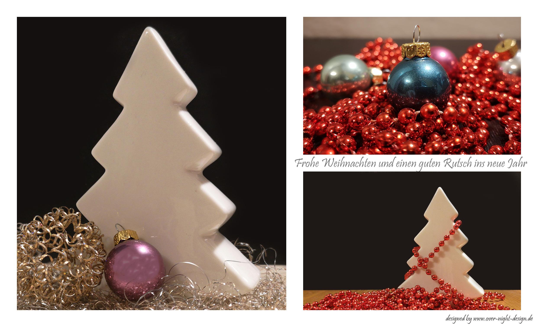 Weihnachts grusskarte 3Bilder