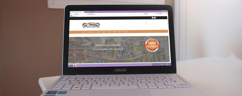 slider webdesign tierladen